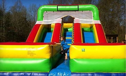 Memphis: $45 for $95 Toward Bounce-House Rentals from Desoto Bounce