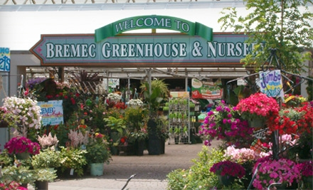 $10 for $20 Worth of Plants and Garden Supplies at Bremec Garden Centers