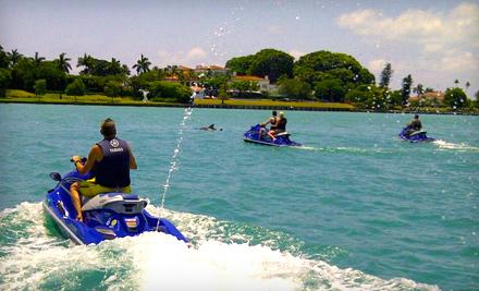 Jet Ski Miami Beach Groupon