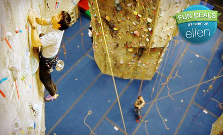 The Rock Club FE Intro to Rock Climbing Class for One, Two, or Four at The Rock Club in New Rochelle (Up to 60% Off)