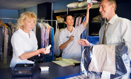$30 Groupon to Big Z's Dry Cleaners
