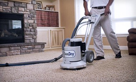 3 Rooms of Carpet Cleaning up to 400 sq. ft. (a $130 value)
