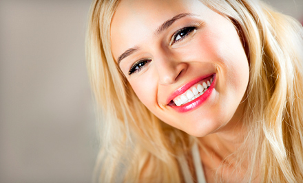 Two 20-Minute Laser Teeth-Whitening Treatments (a $199 value)