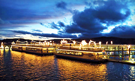 3-Day, 2 Night Trip to the Festival of Lights in Coeur d'Alene For 1 Person (a $519 value)