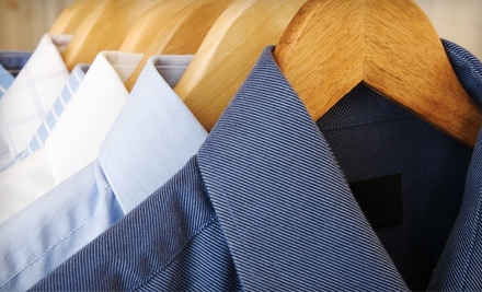 $20 Groupon for Dry Cleaning Including Free Pickup and Delivery