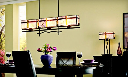 $75 Groupon to Tallahassee Lighting, Fan & Blind