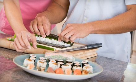 Cincinnati: Sushi-Making or Indian-Cooking Class for Four at Sushi Bears (Up to 51% Off)