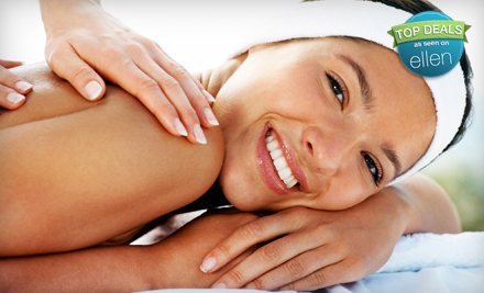1-Hour Custom Massage (a $65 value)