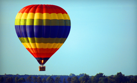 Hot Air Balloon Ride on a Weekday Morning for One (a $275 value)